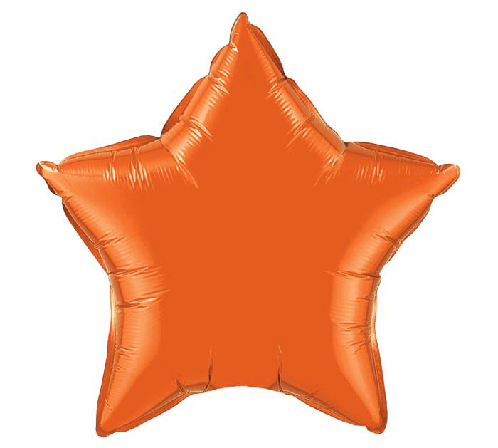 "20""ORANGE STAR SHAPE"