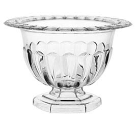 SMALL CLEAR ABBY COMPOTE BOWL
