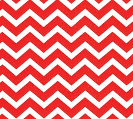 20X20 RED CHEVRON