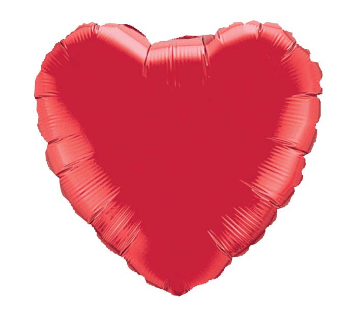 "4"" INFLATED HEART"