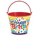 PAIL TIN BIRTHDAY