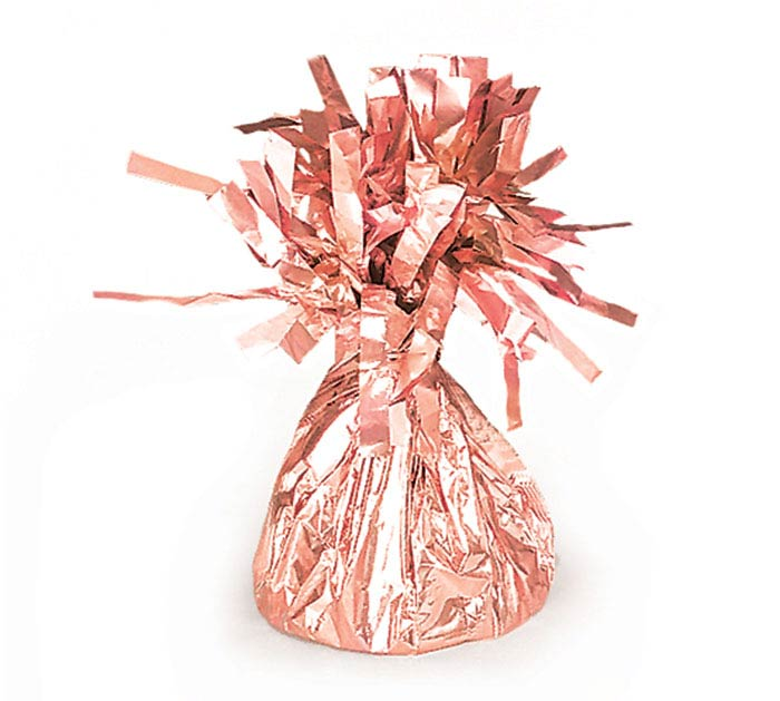ROSE GOLD FOIL BALLOON WEIGHT - 170G