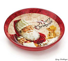 BOWL MAGICAL SANTA