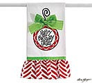 TEA TOWEL ORNAMENT