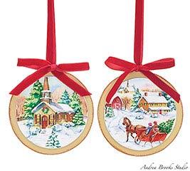 ORNAMENT VINTAGE CHRISTMAS