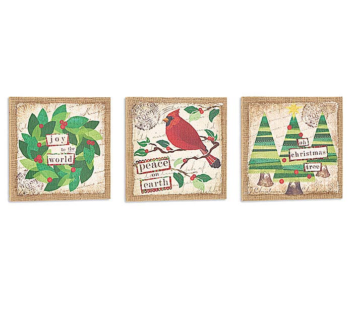 CHRISTMAS WALL HANGING ASSORTMENT