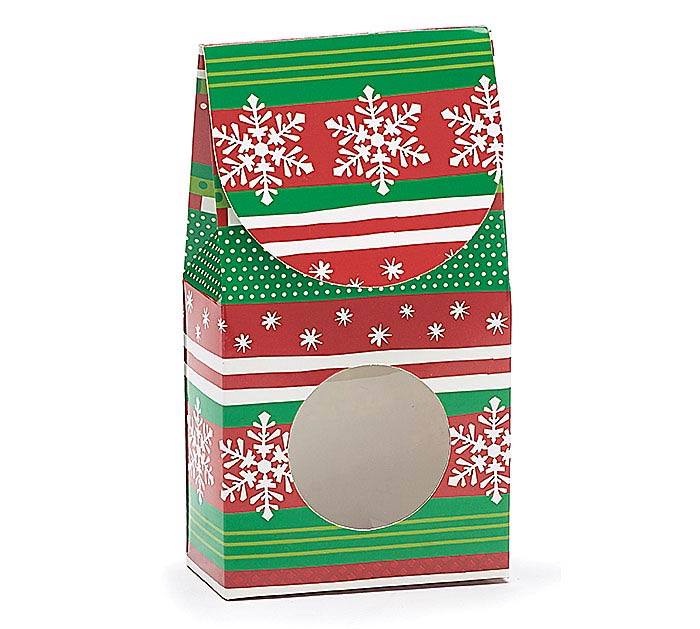 RED/GREEN CHRISTMAS CANDY BOX