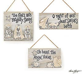 GLORY TO THE KING WALL HANGING SET