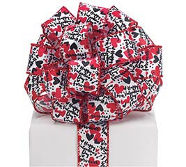 #9 VALENTINE ROMANCE WIRED RIBBON