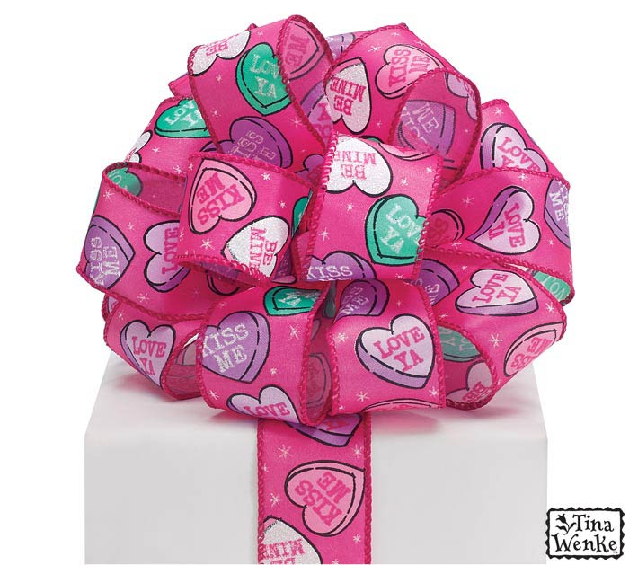 #9 SWEET FLATTERY SATIN WIRED RIBBON