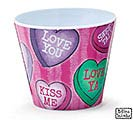 "4"" SWEET FLATTERY MELAMINE POT COVER"