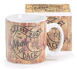 SIMPLY JOYFUL TO THE MOON AND BACK MUG