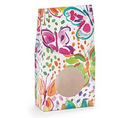 WATERCOLOR WINGS PAPER CANDY BOX