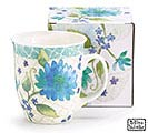 FLORAL FRES PORCELAIN MUG WITH BOX
