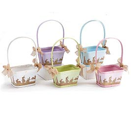 SPRING NATURALS ASSORTED BASKET SET