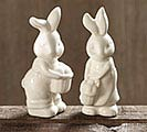 SALT/PEPPER BUNNY SHAPE