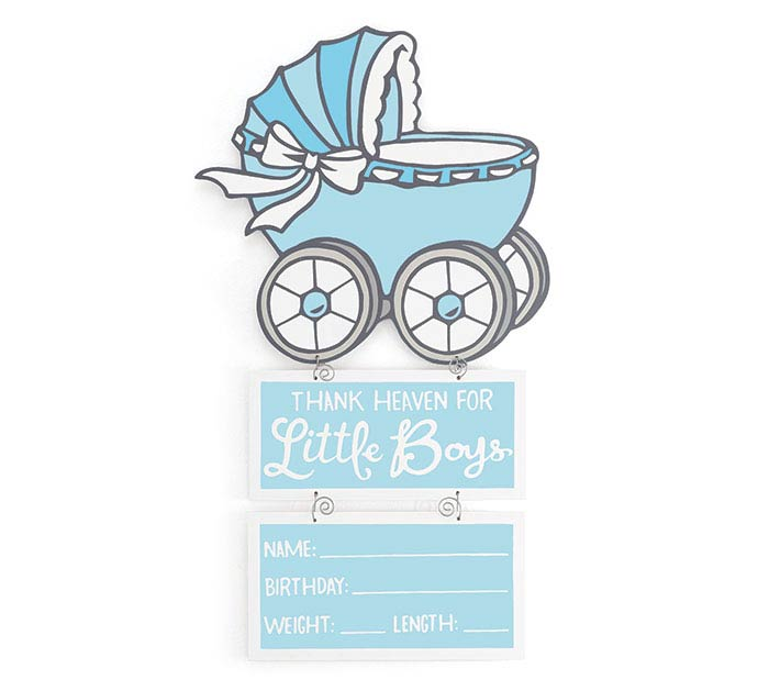 ROCK N STROLLERS BABY BOY WALL HANGING
