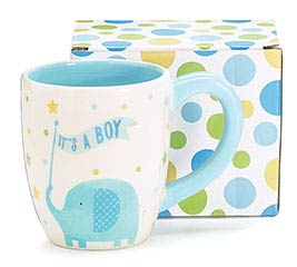 ZANY ZOODLES IT'S A BOY CERAMIC MUG