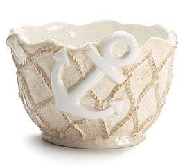 NAUTICAL TREASURES CERAMIC BOWL