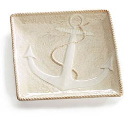 NAUTICAL TREASURES CERAMIC PLATE