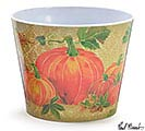 "6"" HOPEFUL HARVEST MELAMINE POT COVER"
