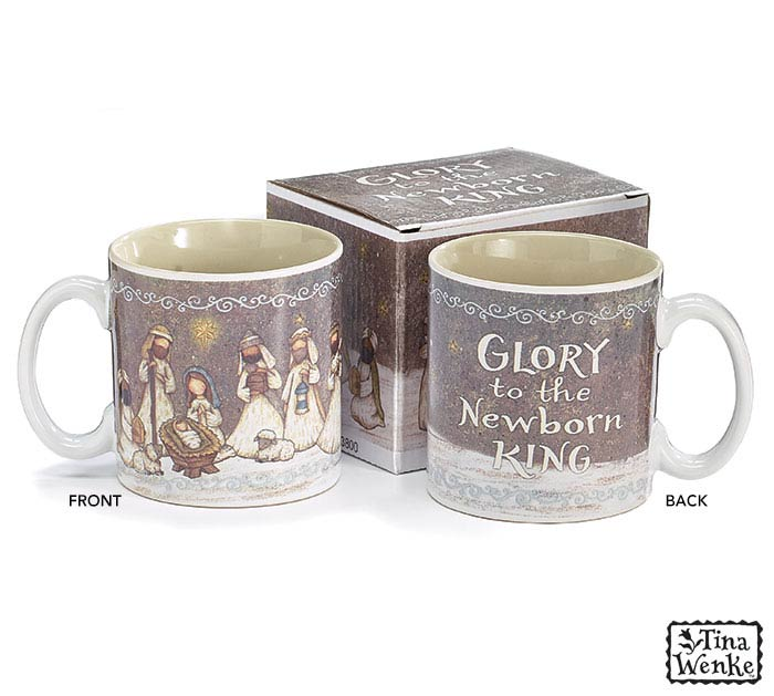 A KING IS BORN CHRISTMAS MUG