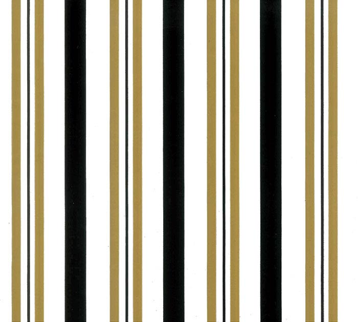 20X20 SWEET STRIPES BLACK GOLD SHEETS