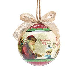 CHRISTMAS WISHES ORNAMENT WITH BOX