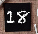 JESUS BIRTHDAY COUNTDOWN PLAQUE 1st Alternate Image