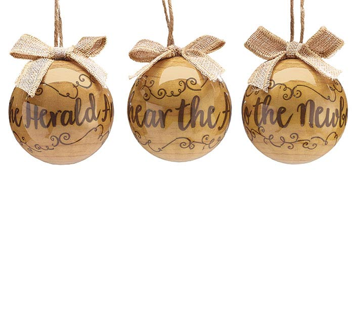 WOODLAND WINTER ORNAMENT SET/GIFT BOX