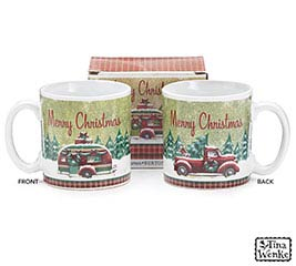 HOLIDAY ROAD CHRISTMAS MUG