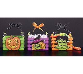 GIDDY GHOULS WOOD CRATES