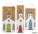 SEASON OF GLORY CHURCH WALL HANGING SET