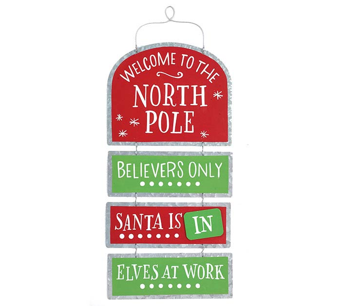 NORTH POLE PARTY WALL HANGING