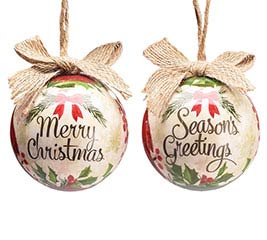 """YULETIDE TRADITIONS 3"""" ORNAMENT GIFT BOX"""