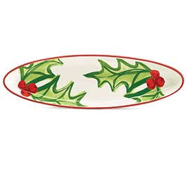 MERRILY CRAFTED OVAL TRAY