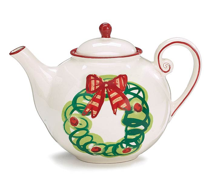MERRILY CRAFTED TEAPOT