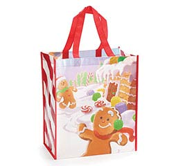 GINGERBREAD JINGLE GIFT BAG