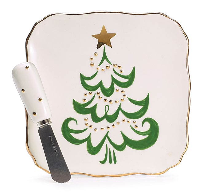 SHINING STAR PLATE WITH SPREADER
