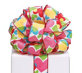 #9 LUV N' COLOR WIRED RIBBON