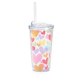 LUV N' COLOR VALENTINE TRAVEL CUP