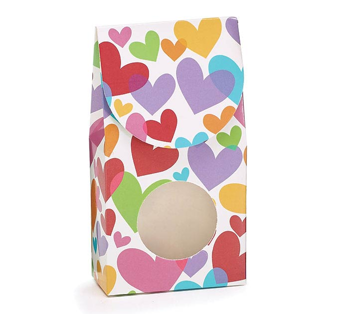FLOATING HEARTS CANDY BOX