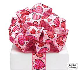 #9 LOVE N' HEARTS WIRED RIBBON