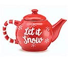 WINTER'S FROST SNOWMAN TEAPOT 1st Alternate Image