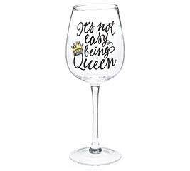 BEE BUZZED WINE GLASS