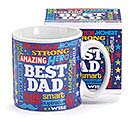 MR. DAD CERAMIC MUG W/ BOX