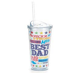 TRAVEL CUP DAD MESSAGES AND STARS
