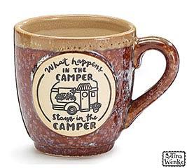 HAPPY CAMPER PORCELAIN MUG