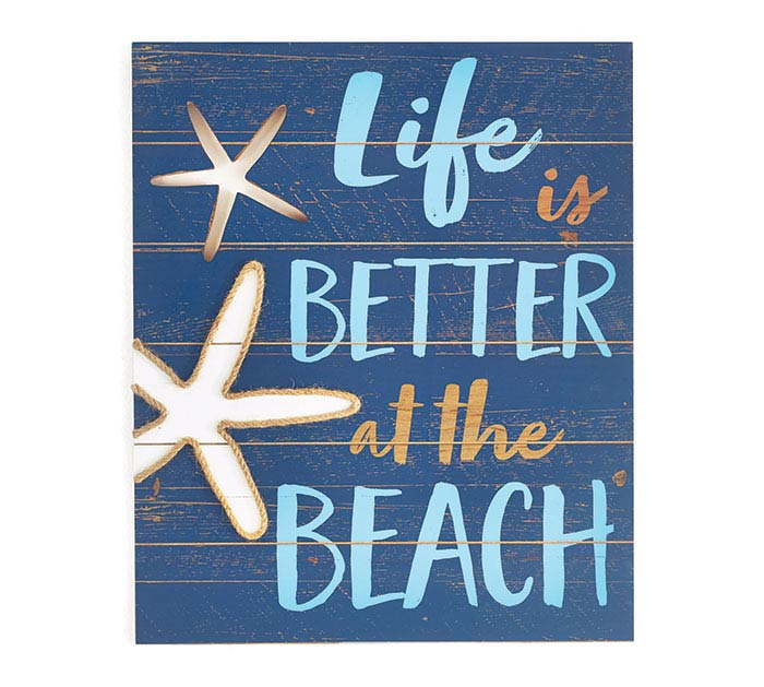 MAKIN' WAVES LIFE IS BETTER WALL HANGING