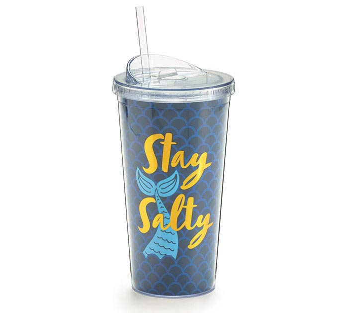 MAKIN' WAVES MERMAID TRAVEL CUP
